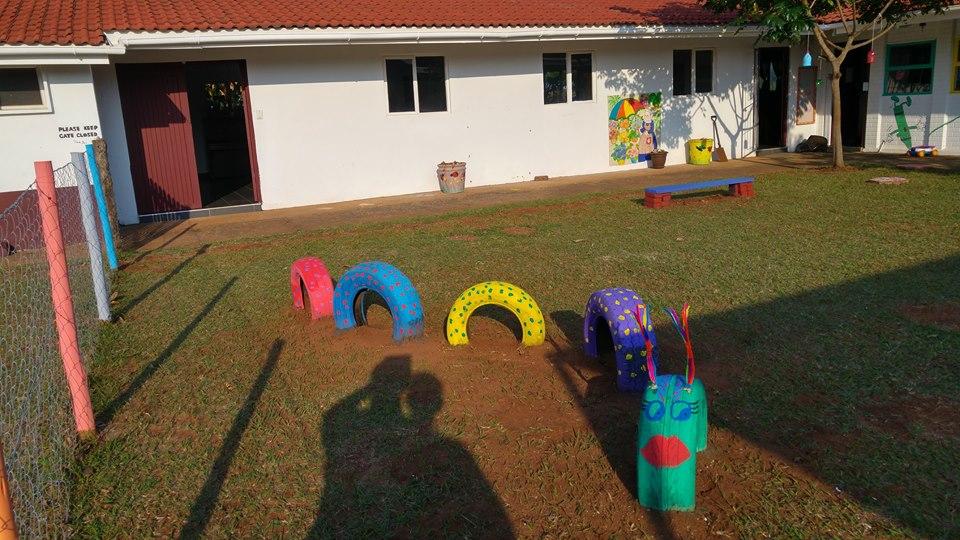 Little Saints Creche play area in Illovo