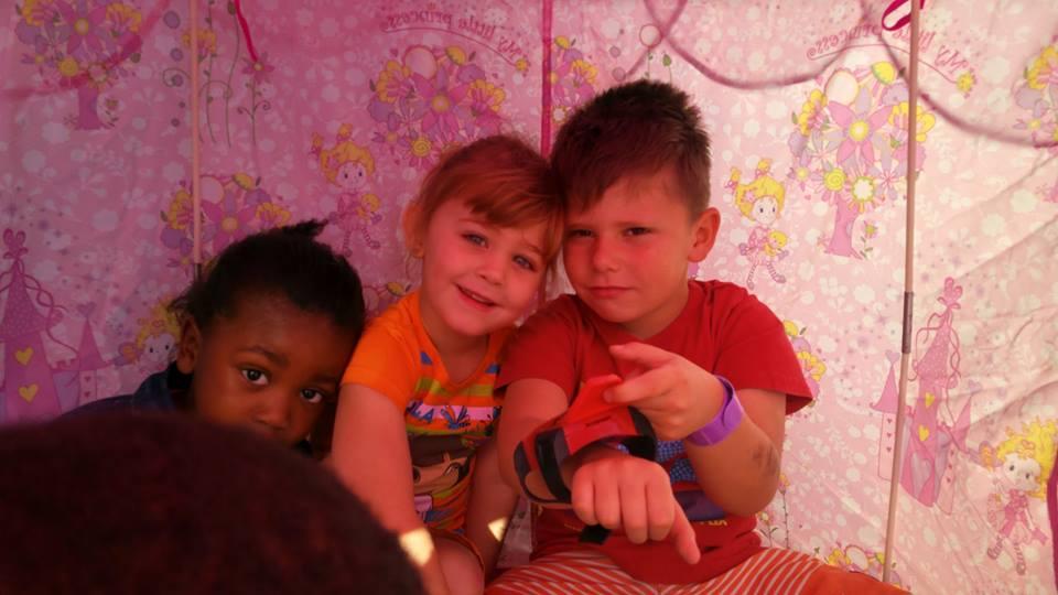Little Saints Creche Play Tent
