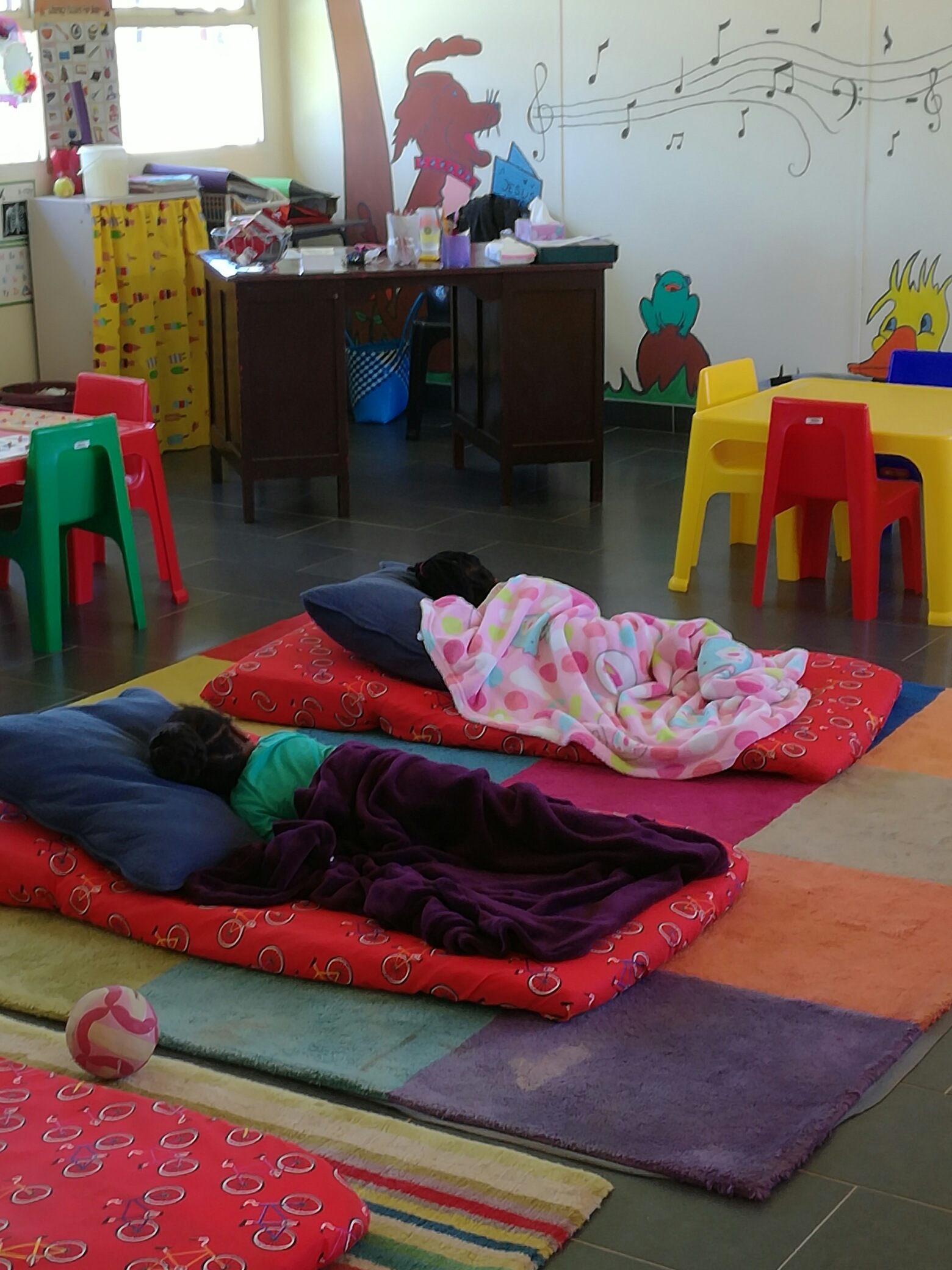 Little Saints Creche nap time